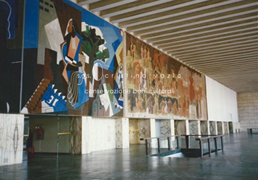 Très Opere d'arte contemporanea - Cristina Vazio S.a.s. - Conservazione  SF29