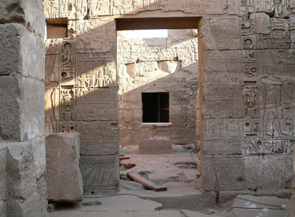 Temple of Khonsu - Luxor - Egypt